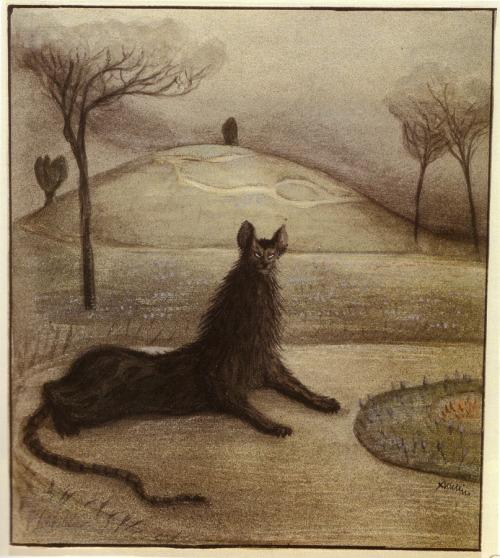 Dream Animal by Alfred Kubin, 1903